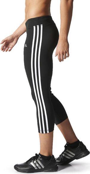 przyjazd wylot online w sprzedaży hurtowej Adidas Legginsy damskie Clima 3S Ess 3/4 czarne r. S (D89762) ID produktu:  5920890