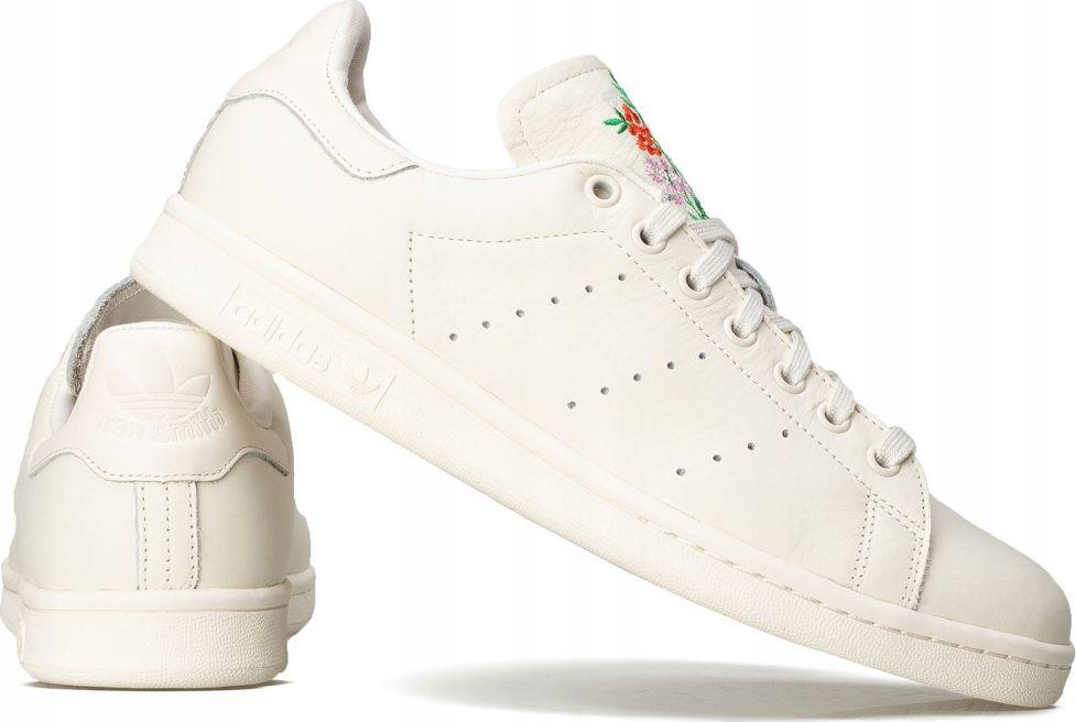 Adidas Buty męskie Stan Smith kremowe r. 43 13 (CQ2196) ID produktu: 5921609