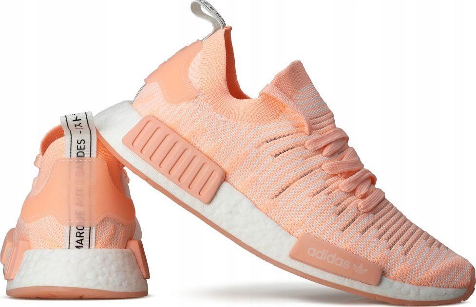 adidas nmd r1 biale z pomaranczowompodeszwą