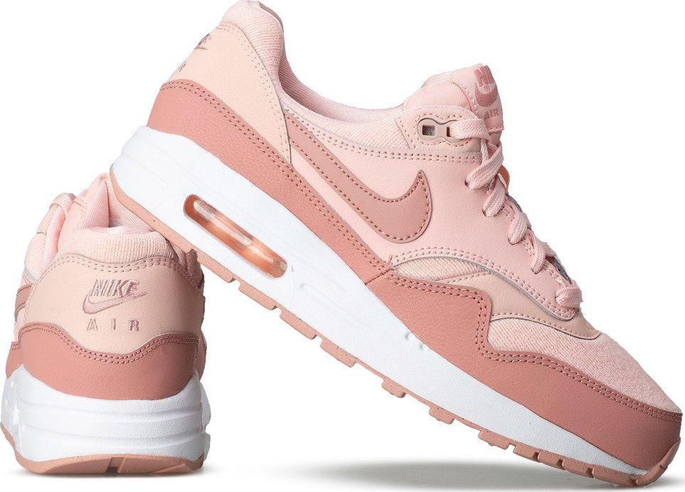 Nike Buty damskie Air Max 1 Se (Gs) różowe r. 39 (AQ3188 600) ID produktu: 5921874