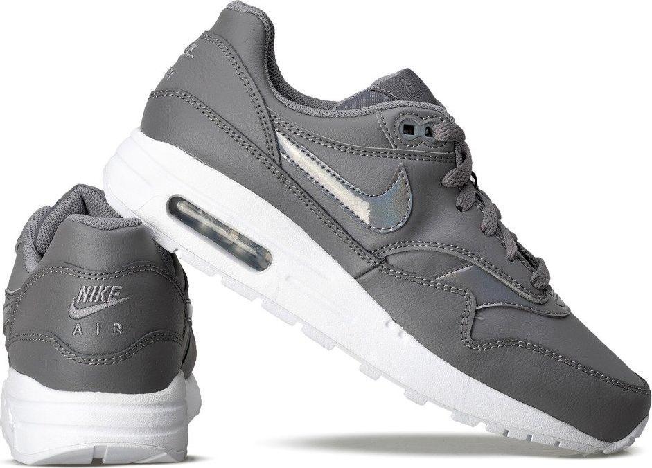 Nike Buty damskie Air Max 1 (Gs) szare r. 38.5 (807605 001) ID produktu: 5921881