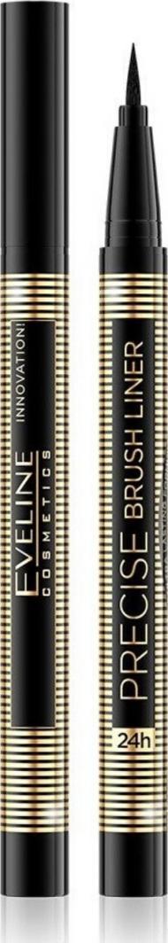 Eveline Eyeliner Precise Brush Liner Deep Black 1