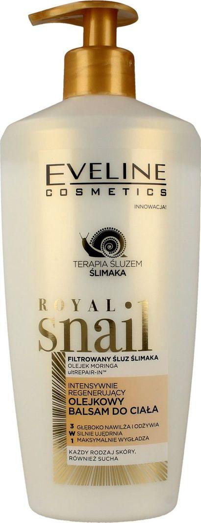 Eveline Royal Snail intensywnie regenerujący olejkowy balsam do ciała 350ml 1