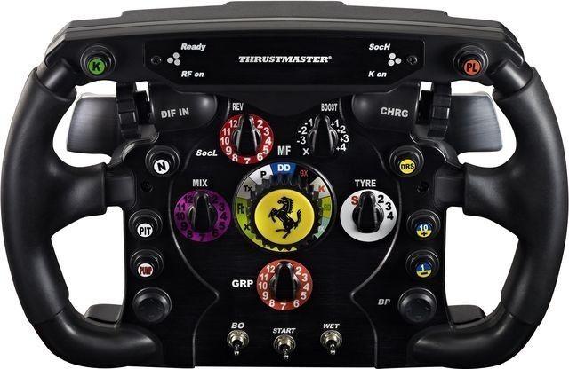 Thrustmaster Nakładka na kierownicę Ferrari F1 (4160571) 1