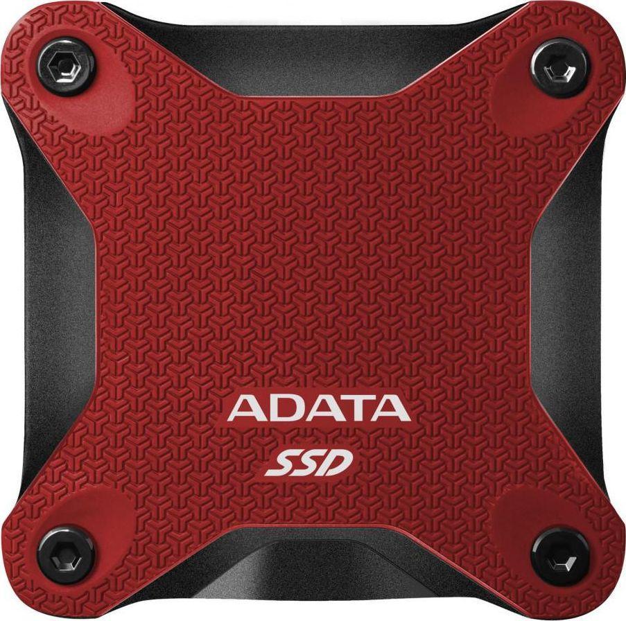 Dysk zewnętrzny ADATA SSD SD600Q 240 GB Czerwony (ASD600Q-240GU31-CRD) 1