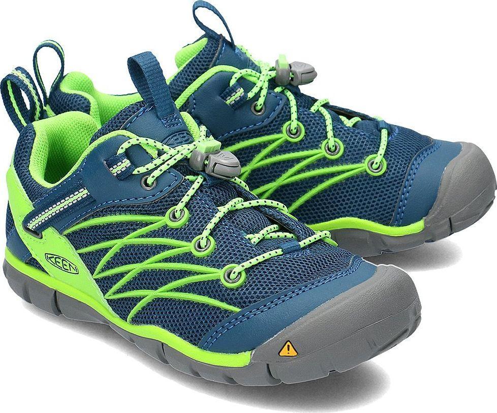 brand new f88a9 20512 Keen Buty dziecięce Chandler Cnx granatowo-zielone r. 36 (1014444) ID  produktu: 5934320