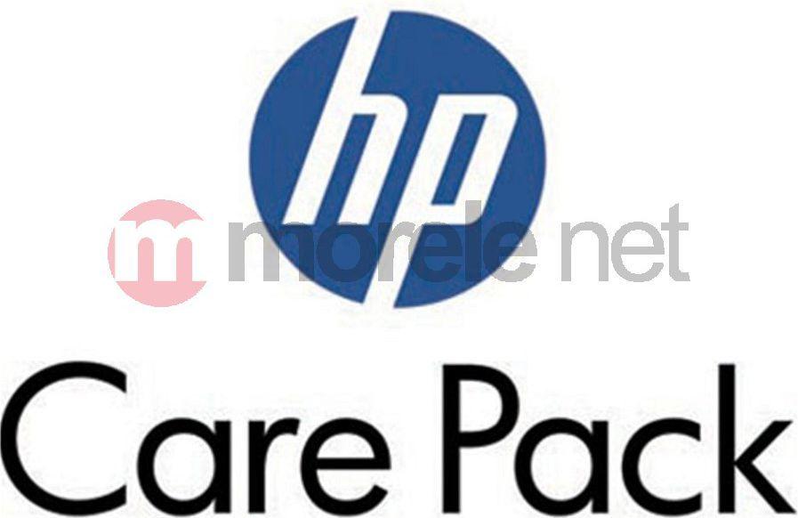Gwarancje dodatkowe - komputery HP Usługa w punkcie serwisowym HP z transportem 3 lata Monitory (UC758E) 1