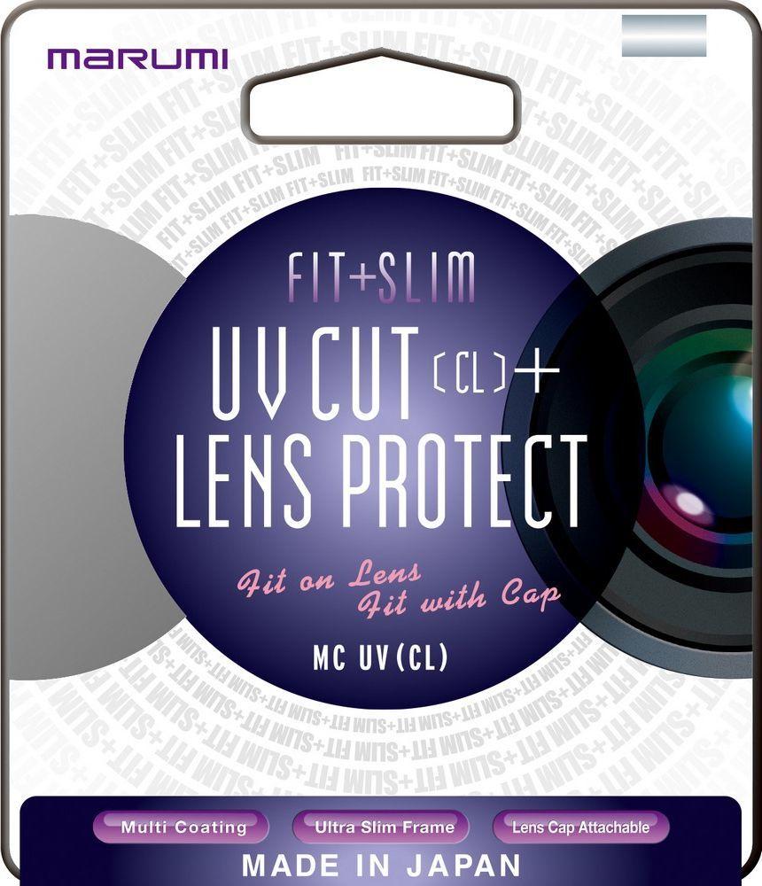 Filtr Marumi MARUMI filtr fotograficzny FIT+SLIM MC UV (CL) 55mm uniwersalny 1