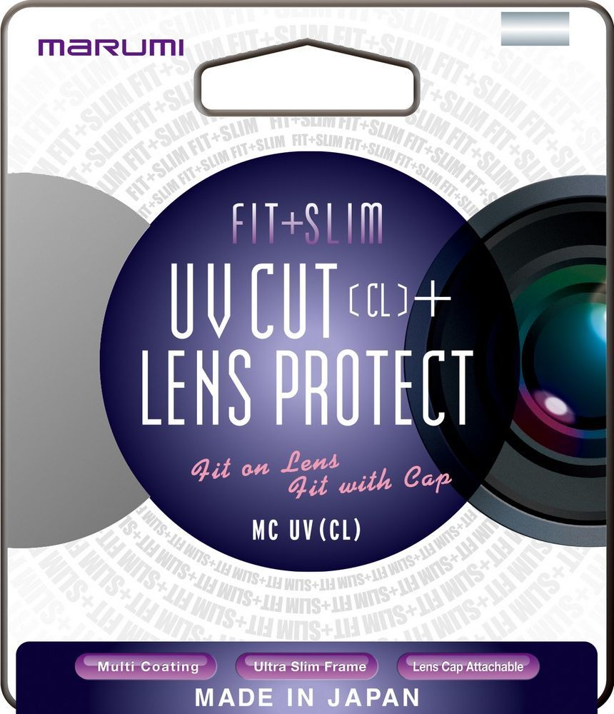 Filtr Marumi MARUMI filtr fotograficzny FIT+SLIM MC UV (CL) 46mm uniwersalny 1
