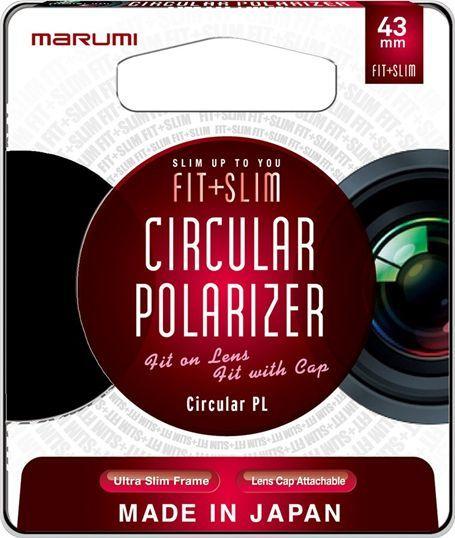 Filtr Marumi MARUMI Fit + Slim Filtr fotograficzny Circular PL 43mm uniwersalny 1