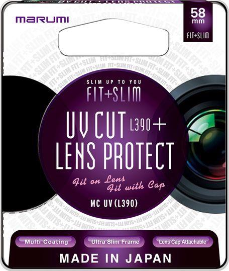 Filtr Marumi MARUMI Fit + Slim Filtr fotograficzny UV 58mm uniwersalny 1
