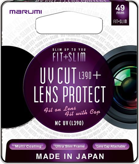Filtr Marumi MARUMI Fit + Slim Filtr fotograficzny UV 49mm uniwersalny 1