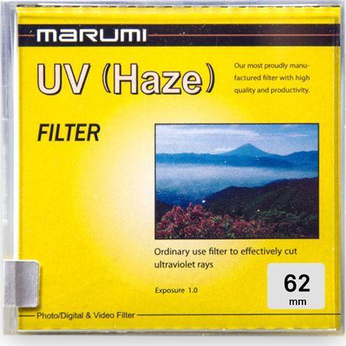 Filtr Marumi MARUMI Standard Filtr fotograficzny UV 62mm uniwersalny 1