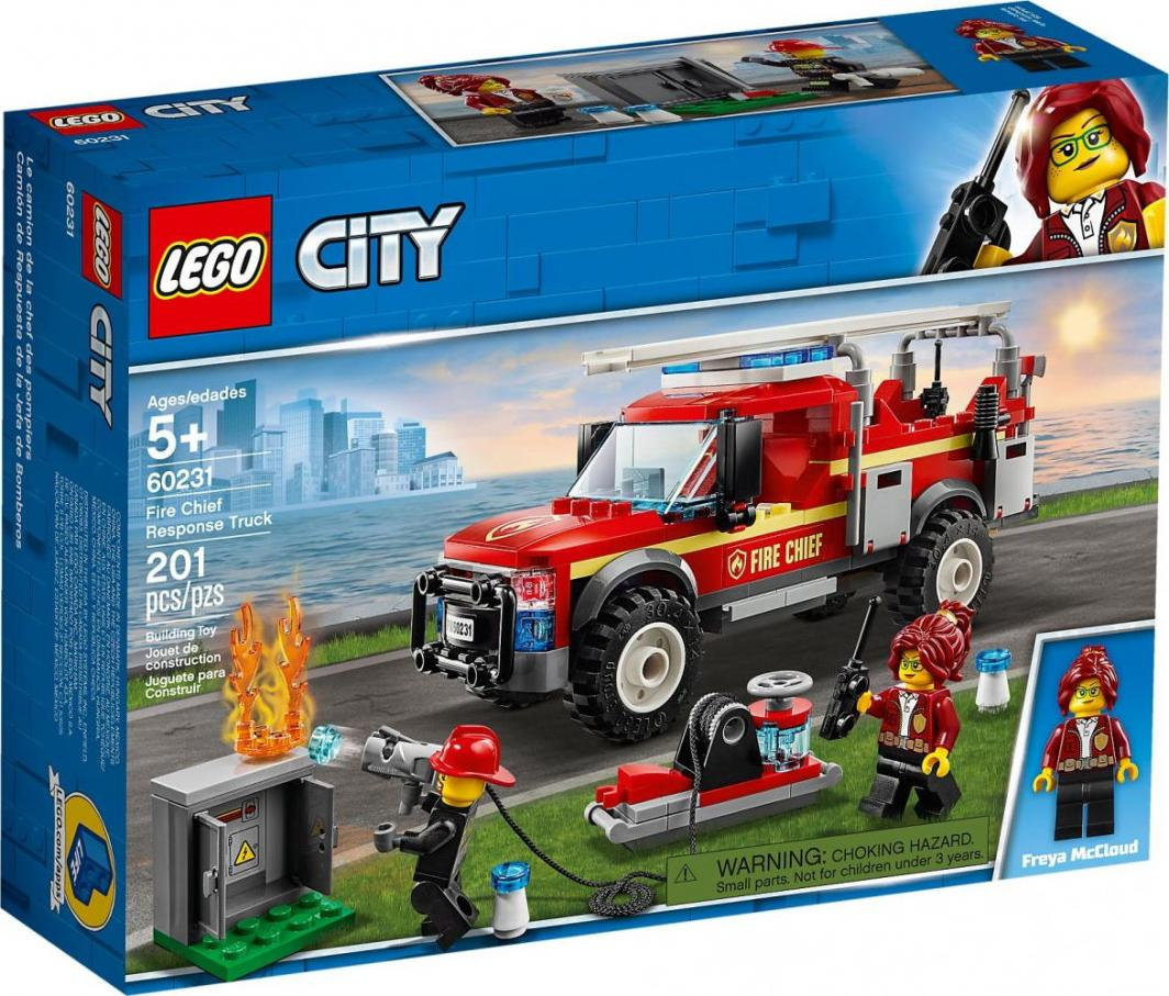 LEGO City Terenówka komendantki straży pożarnej (60231) 1