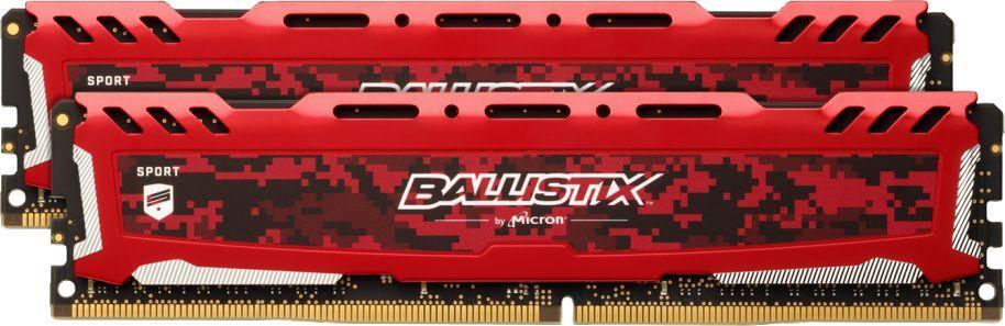 Pamięć Ballistix Ballistix Sport LT, DDR4, 16 GB, 3000MHz, CL15 (BLS2K8G4D30AESEK) 1