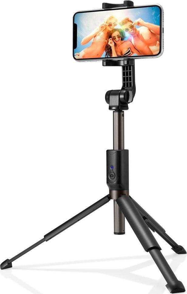 Selfie stick Spigen S540W Tripod Peach Bezprzewodowy Czarny 1