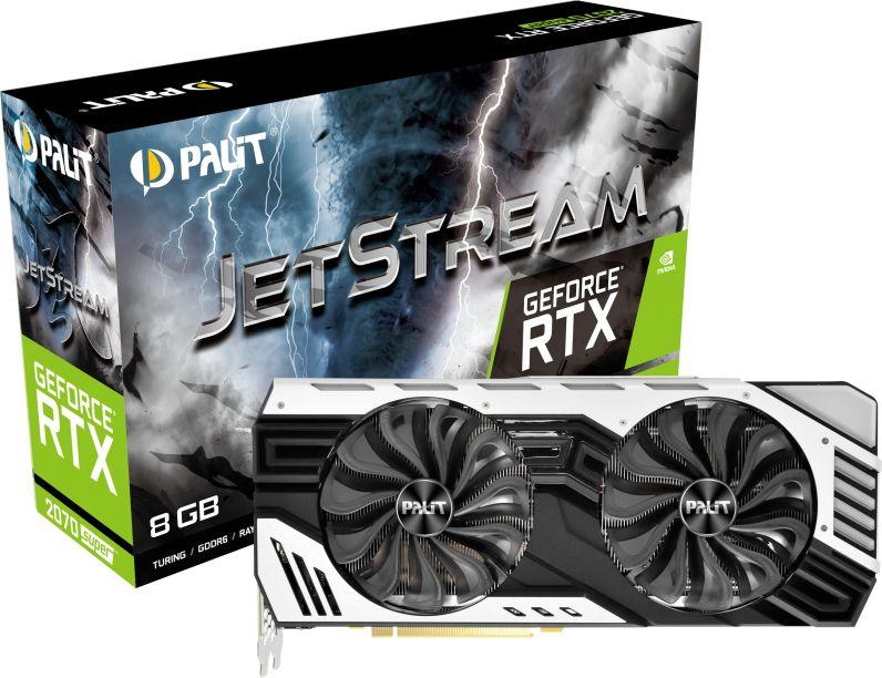 Karta graficzna Palit GeForce RTX 2070 SUPER JetStream 8GB GDDR6 (NE6207SS19P2-1040J) 1