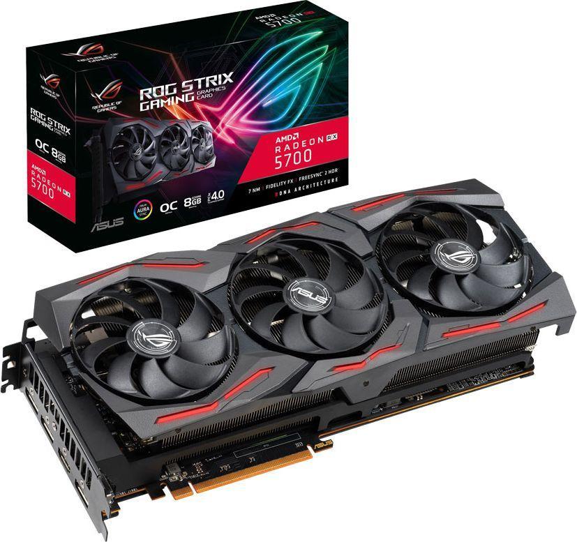 Karta graficzna Asus ROG Strix Radeon RX 5700 Gaming OC 8GB GDDR6 (ROG-STRIX-RX5700-O8G-GAMING) 1