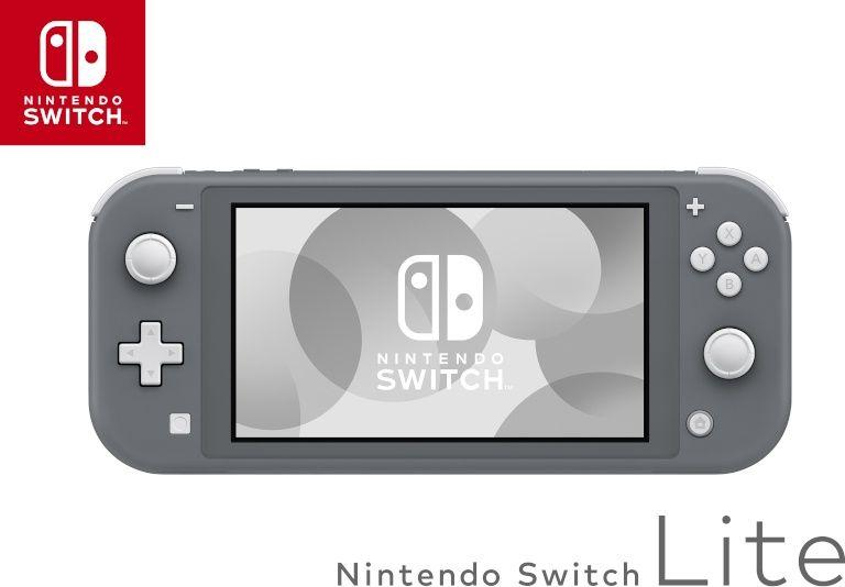 Nintendo Switch Lite Grey 1