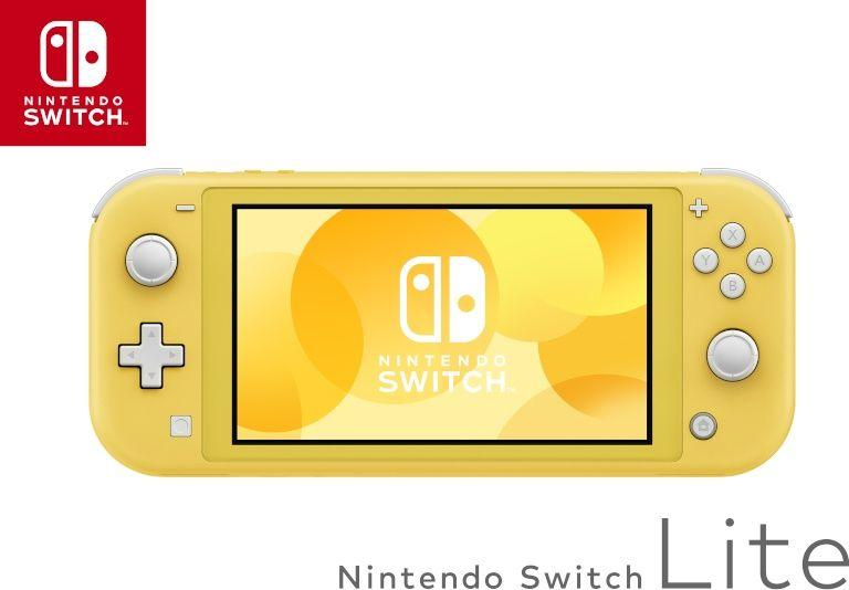 Nintendo Switch Lite Yellow 1