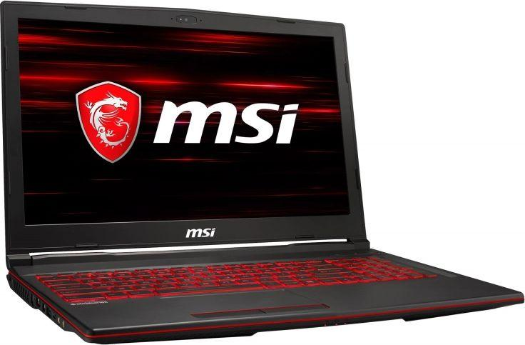 Laptop MSI GL63 (9SC-203XPL) 16 GB RAM/ 512 GB M.2 PCIe/ 1