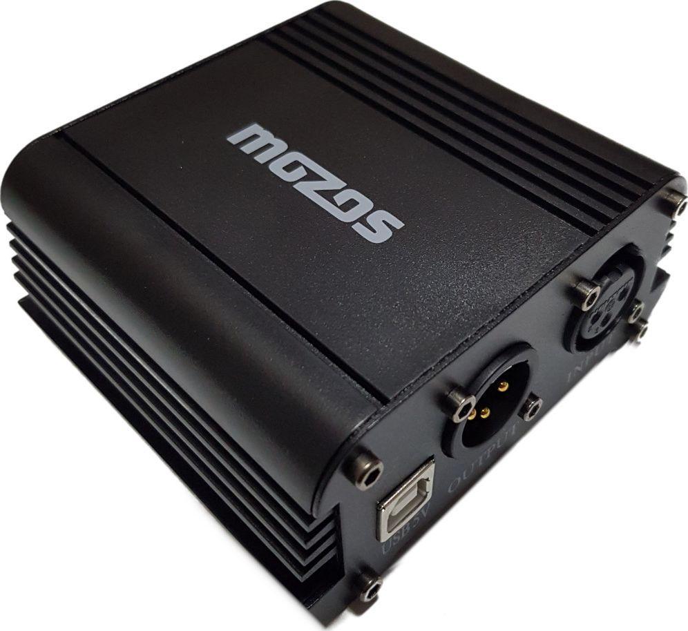 Mozos Zasilacz USB Phantom +48V do mikrofonów M48P 1