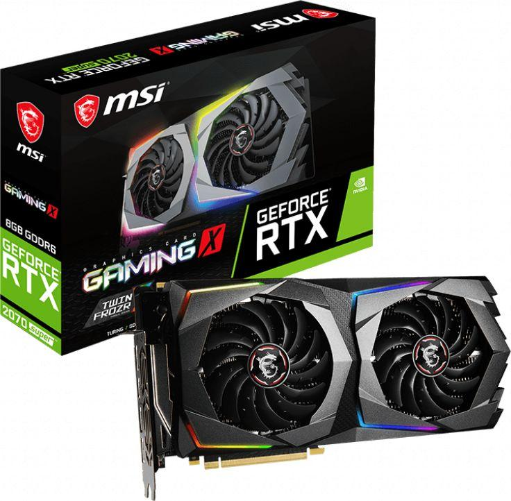 Karta graficzna MSI GeForce RTX 2070 SUPER Gaming X 8GB GDDR6 (RTX 2070 SUPER GAMING X) 1