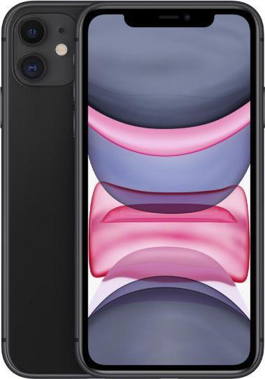 Smartfon Apple iPhone 11 64GB Dual SIM Czarny (MHDA3PM/A) 1