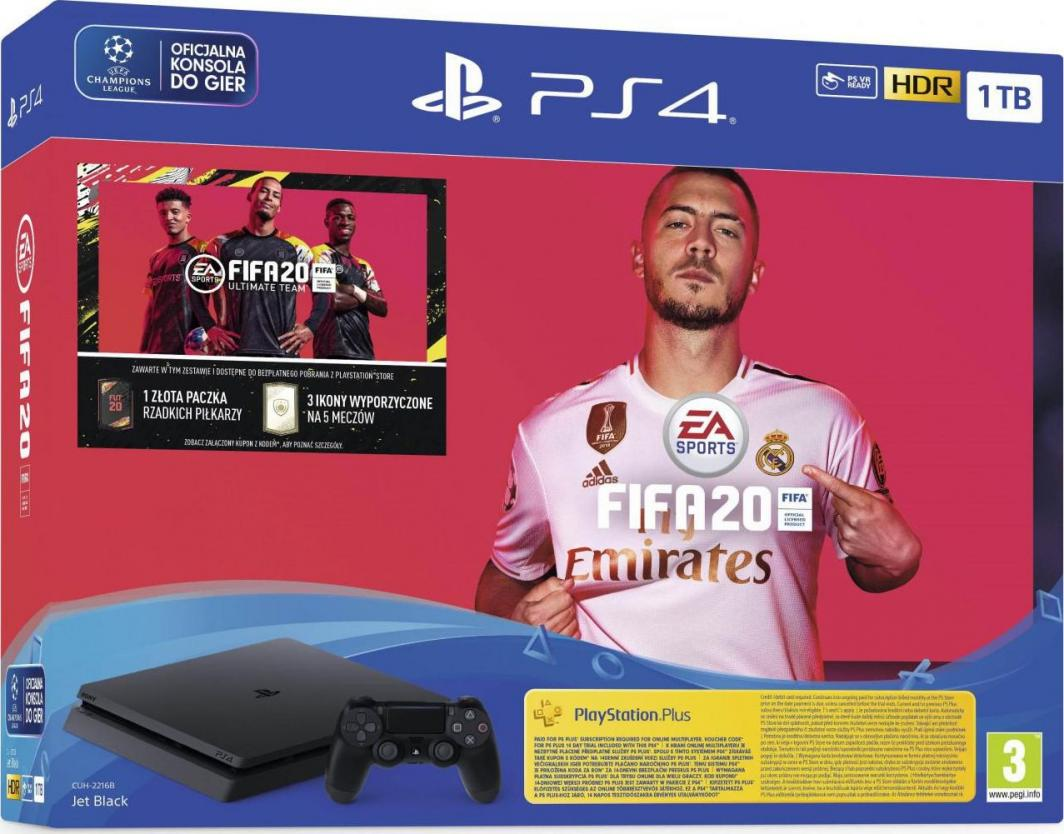 Sony PlayStation 4 1TB + FIFA 20 1