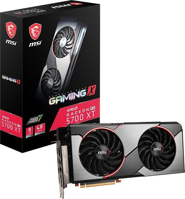 Karta graficzna MSI Radeon RX 5700 XT Gaming X 8GB GDDR6 (RX 5700 XT GAMING X) 1