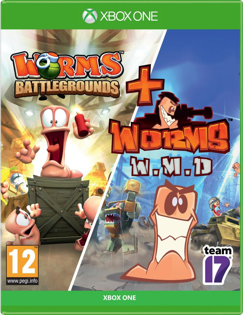 Worms Battlegrounds + Worms W.M.D. 1
