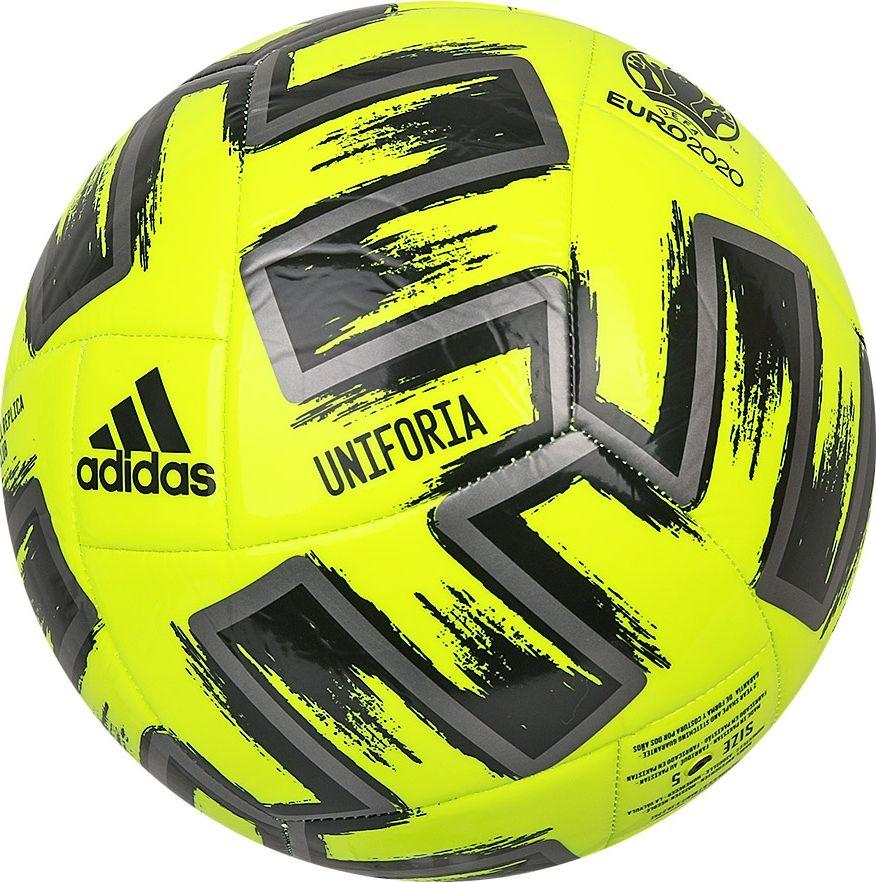 Adidas Piłka nożna Uniforia Club żółta Euro 2020 r. 5 1