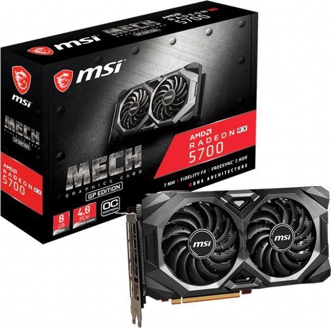 Karta graficzna MSI Radeon RX 5700 Mech GP OC 8GB GDDR6 (RX 5700 MECH GP OC) 1