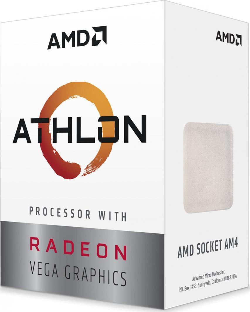 Procesor AMD Athlon 3000G, 3.5GHz, 4 MB, BOX (YD3000C6FHBOX) 1