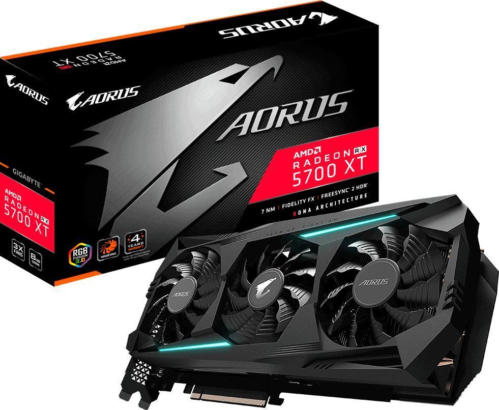 Karta graficzna Gigabyte Aorus Radeon RX 5700 XT 8GB GDDR6 (GV-R57XTAORUS-8GD) 1