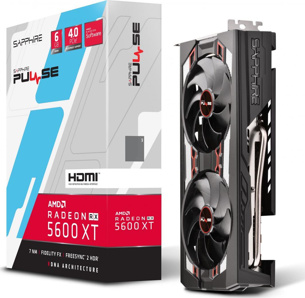 Karta graficzna Sapphire Radeon RX 5600 XT Pulse 6GB GDDR6 (11296-01-20G) 1