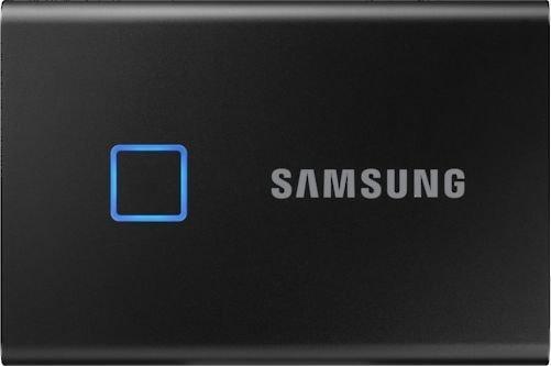 Dysk zewnętrzny Samsung SSD T7 Touch 500 GB Czarny (MU-PC500K/WW) 1