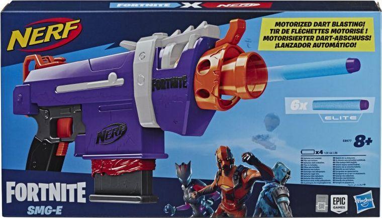 Hasbro Wyrzutnia Nerf Fortnite SMG-E (E8977) 1