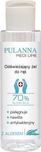 Pulanna Żel antybakteryjny 70% alkoholu 100ml 1