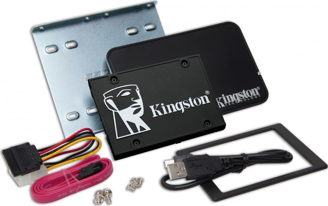 Dysk SSD Kingston KC600 1 TB 2.5'' SATA III (SKC600B/1024G) 1