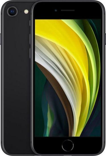 Smartfon Apple iPhone SE 2020 128 GB Dual SIM Czarny  (MXD02PM/A) 1