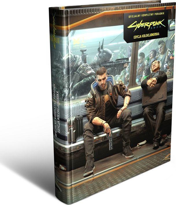 Piggyback Cyberpunk 2077 - Oficjalny Kompletny Poradnik – Edycja Kolekcjonerska 1