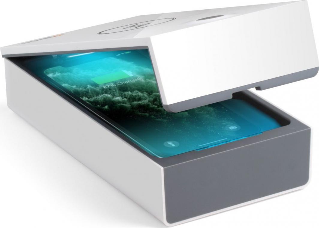 Technaxx Sterylizator UV-C do drobnych przedmiotów z ładowarką indukcyjną TX-148 1