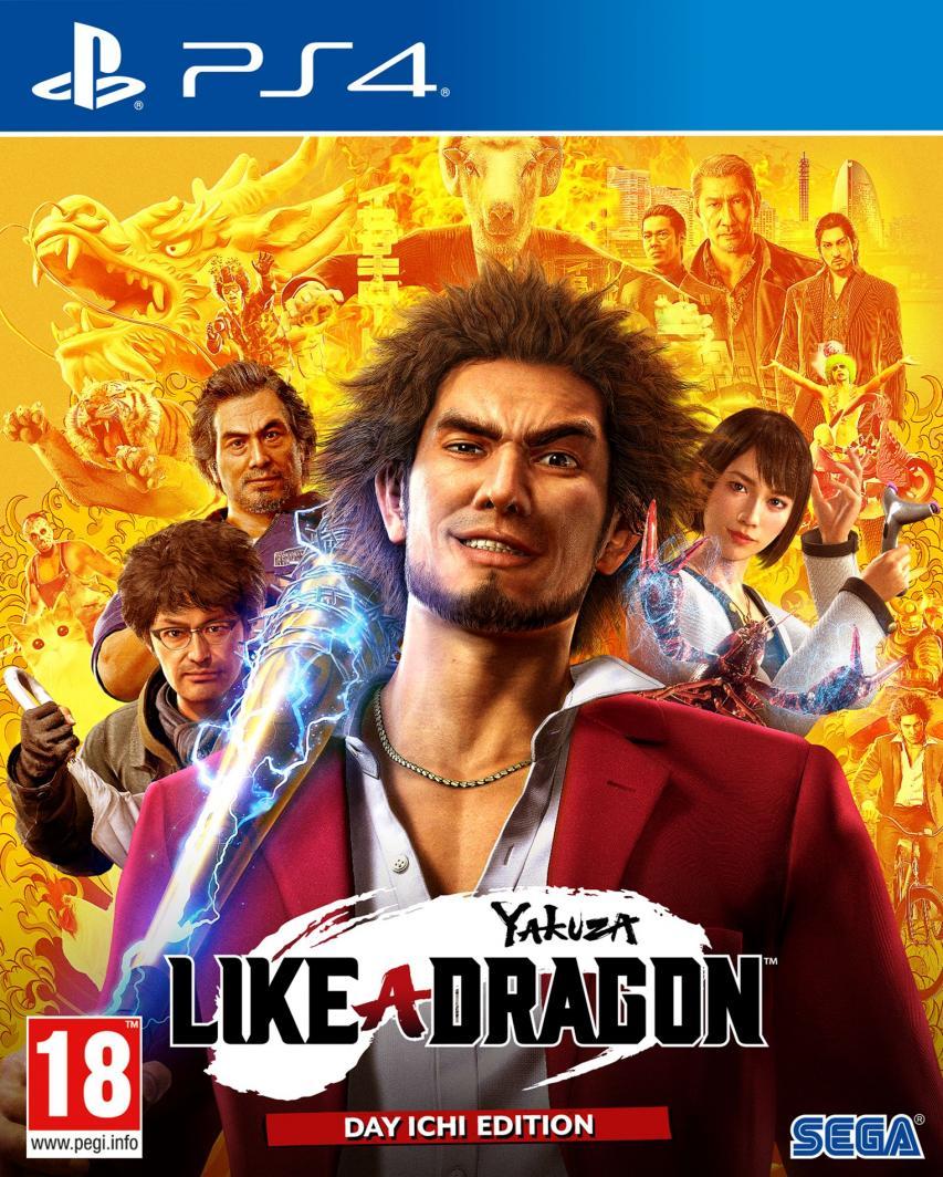 Yakuza: Like a Dragon PS4 1