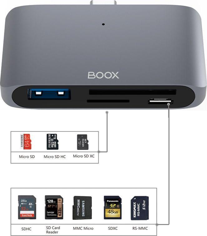 Onyx Adapter Boox USB-C Hub 1