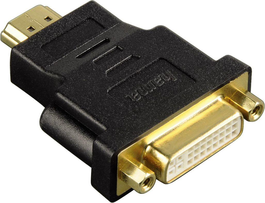 Adapter AV Hama ADAPTER HDMI WT - DVI GN ( 990340360000 ) 1