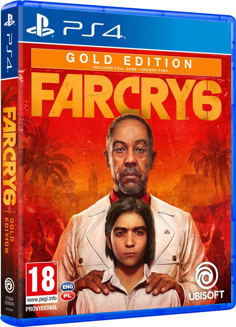 Far Cry 6 Gold Edition PS4 1
