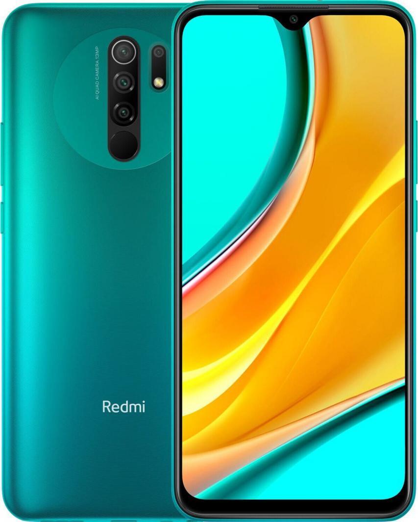 Smartfon Xiaomi Redmi 9 64 GB Dual SIM Zielony (28425) 1