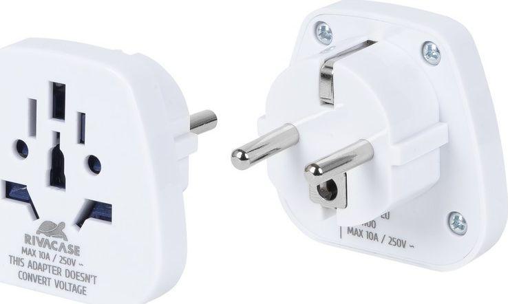 RivaCase Adapter sieciowy UK/US - EU 1