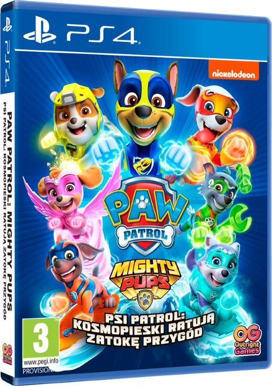Psi Patrol: Kosmopieski ratują Zatokę Przygód PS4 1